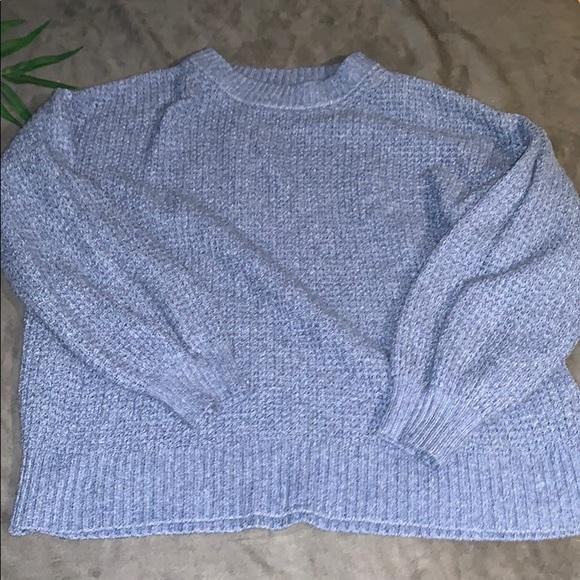 American Eagle Knit Oversized Sweatshirt